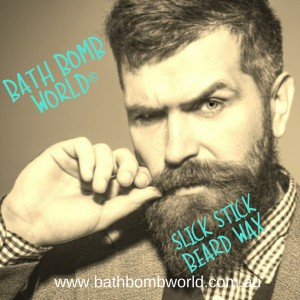 Bath Bomb World® Slick Stick Beard Wax