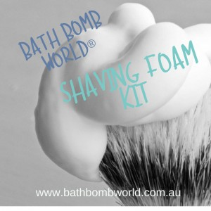 Bath Bomb World® Shaving Foam Kit