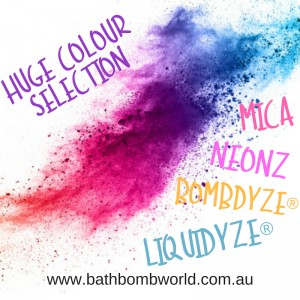 Colours From Bath Bomb World®