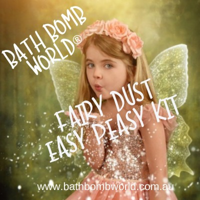 Easy Peasy Fairy Dust Bath Bomb Kit
