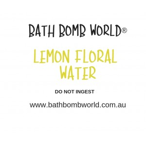 Lemon Floral Water
