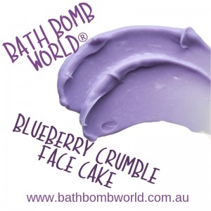 Bath Bomb World® Blueberry Crumble Face Cake Kit
