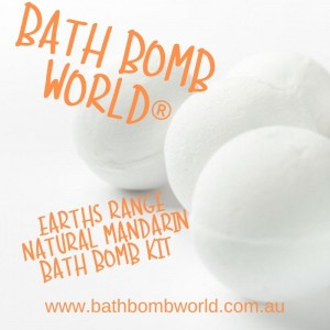 Bath Bomb World®  Bath Bomb Kit - Earth Range Mandarin