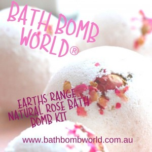 Bath Bomb World®  Bath Bomb Kit - Earth Range Rose