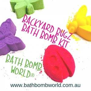 Bath Bomb World® Backyard Bugz Bath Bomb Kit