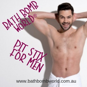 Bath Bomb World® Pit Stix For Men Kit