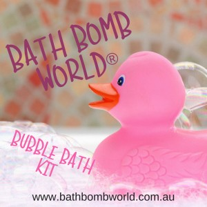 Bath Bomb World® Bubble Bath Kit