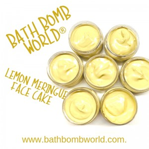 Bath Bomb World® Lemon Meringue Face Cake Kit
