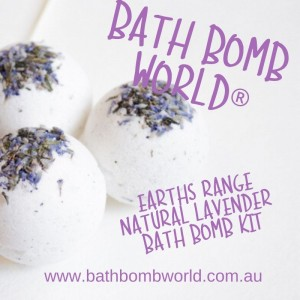 Bath Bomb World®  Bath Bomb Kit - Earth Range Lavender