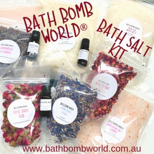 Bath Bomb World® Bath Saltz Kit