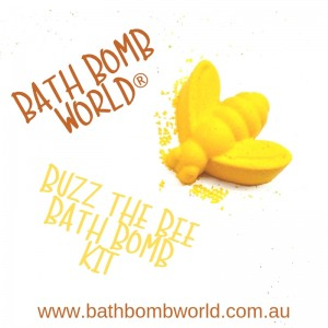 Bath Bomb World® Buzz The Bee Bath Bomb Kit