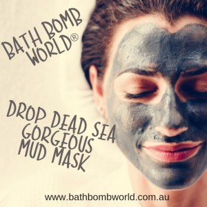 Bath Bomb World® Drop Dead Sea Gorgeous Mud Mask Kit