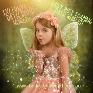 Bath Bomb World® Fairy Dust Foaming Bath Whip Kit