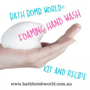 Bath Bomb World® Foaming Hand Wash Kit