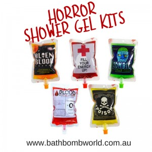 Bath Bomb World® Horror Shower Gel Kit