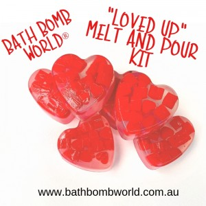 Bath Bomb World® Loved Up Soap Kit