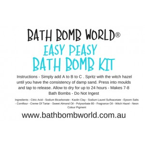 Bath Bomb World® Easy Peasy Bath Bomb Kit