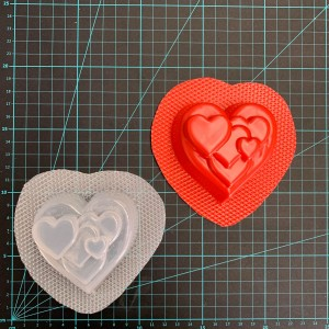 Cluster Heart® Bath Bomb Mould