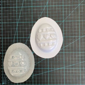 Easter Egg Hearts Bath Bomb Mould