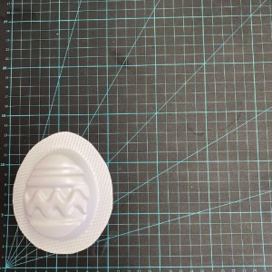 Easter Egg Ribbon Bath Bomb Mould
