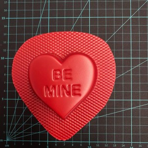 Be Mine® Love Heart Bomb Mould