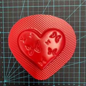 Butterfly Heart Bath Bomb Mould