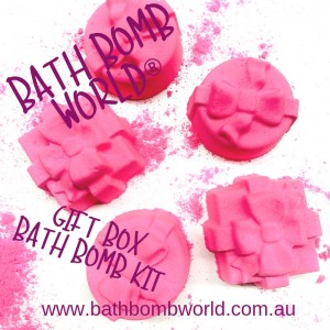 Bath Bomb World® Gift Box Bath Bomb Kit