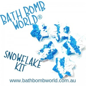 Bath Bomb World® Snowflake Bath Bomb Kit