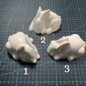 Bunny Bath Bomb Moulds