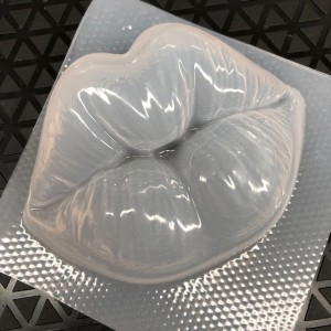 Lips 3D Pucker Large Bath Bomb Mould