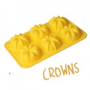 Crown Silicone Soap Mould