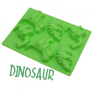 Dinosaur Silicone Soap Mould