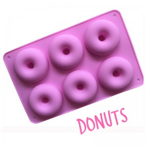 Donut Silicone Soap Mould