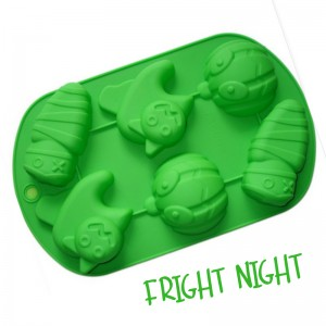 Fright Night  Silicone Soap Mould