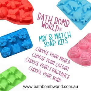 Bath Bomb World® Mix and Match Melt and Pour Kits
