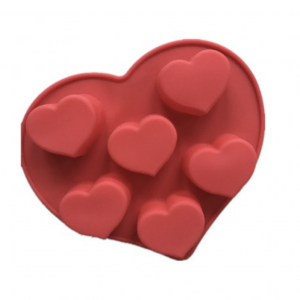 Heart  Silicone Soap Mould