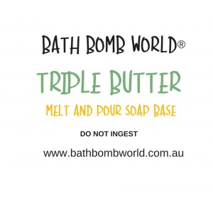 Bath Bomb World® Triple Butter Melt and Pour Soap Base