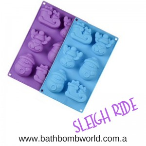 Sleigh Ride Silicone Mould