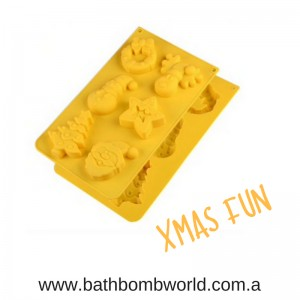 Xmas Fun Silicone Mould