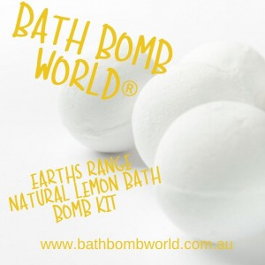 Bath Bomb World®  Bath Bomb Kit - Earth Range Lemon