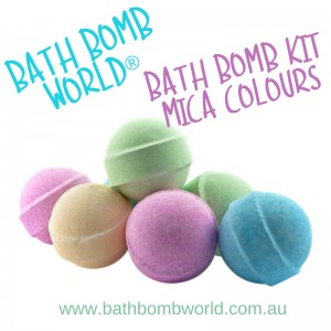 Bath Bomb World® Bath Bomb Kit - Mica Colour
