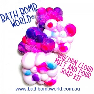 Bath Bomb World® Unicorn Cloud Melt and Pour Soap - Coming Soon