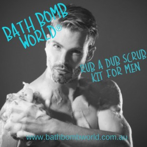Bath Bomb World®  Scrub A Dub Dub For Men