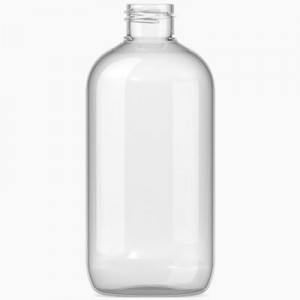 250mls Boston Bottle Clear