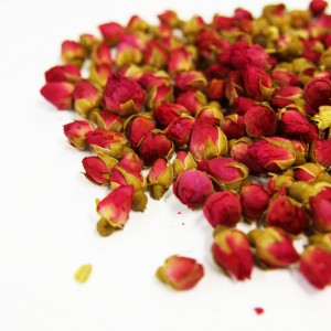 Dried Red Rose Buds