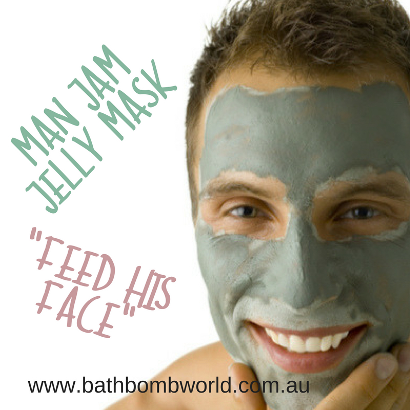 Man Jam Jelly Face Mask