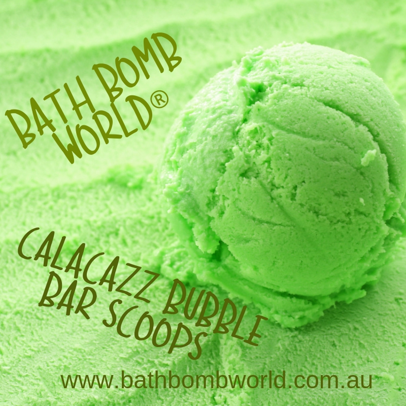 Bath Bomb World® Calacazz Type Bubble Bar