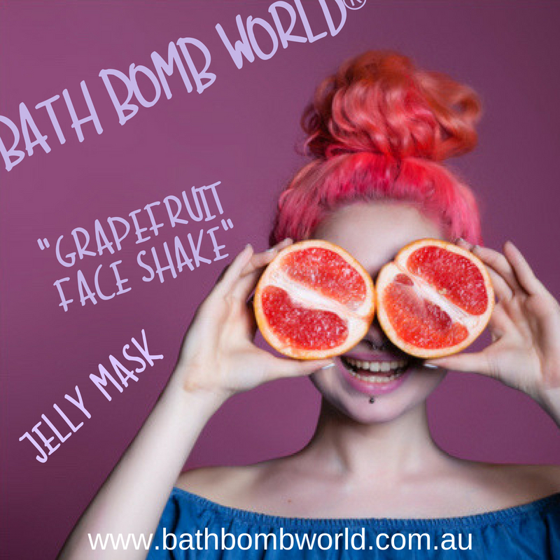 Grapefruit Face Shake Jelly Mask
