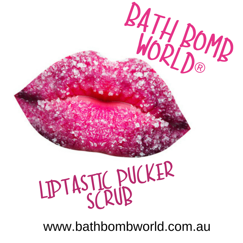 Bath Bomb World® Liptastic Pucker Scrub