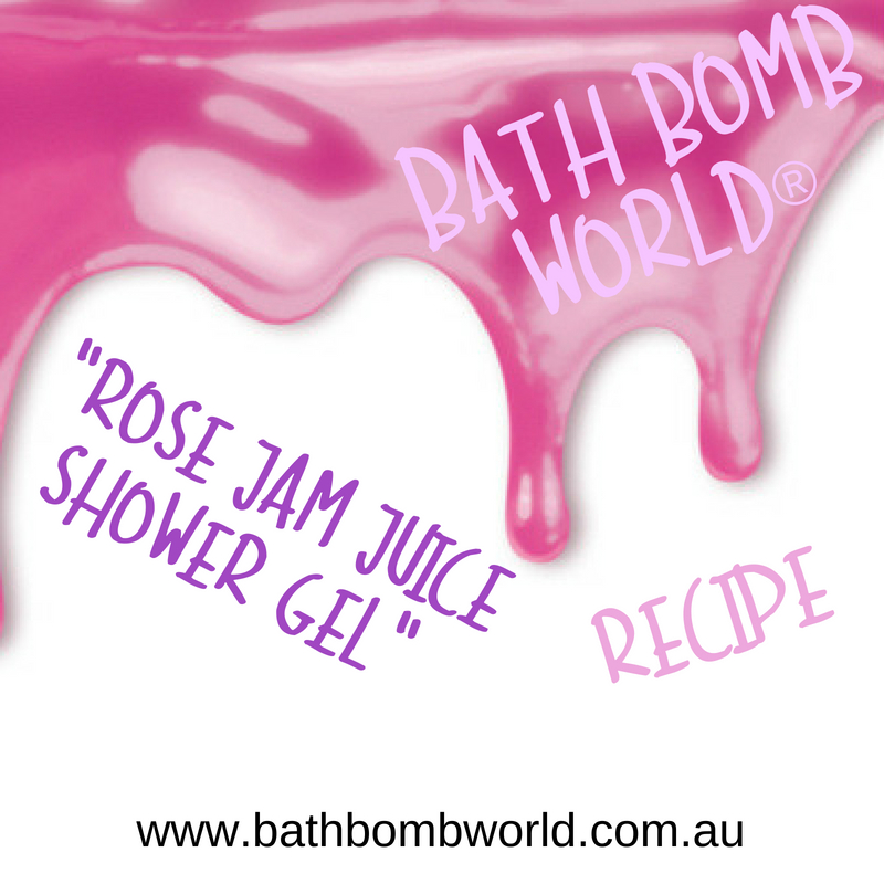 Rose Jam Juice Shower Gel